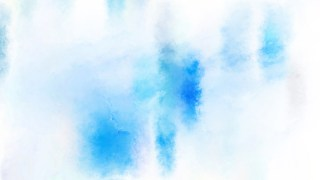 Blue and White Watercolor Background Texture