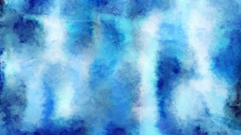 Blue and White Aquarelle Background Image