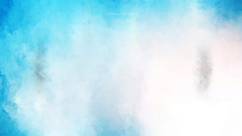 Blue and White Water Color Background Image