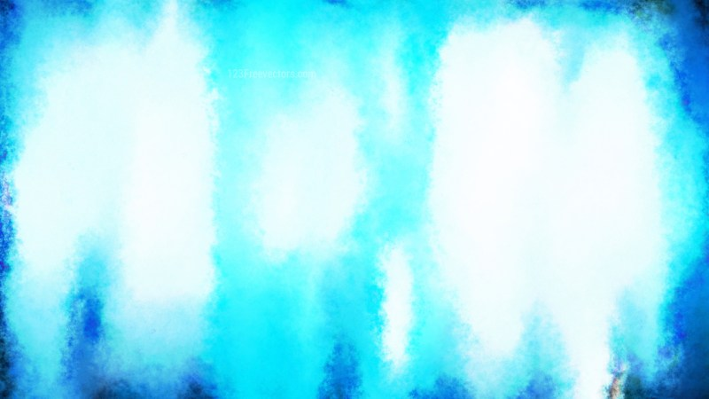 Blue and White Water Paint Background
