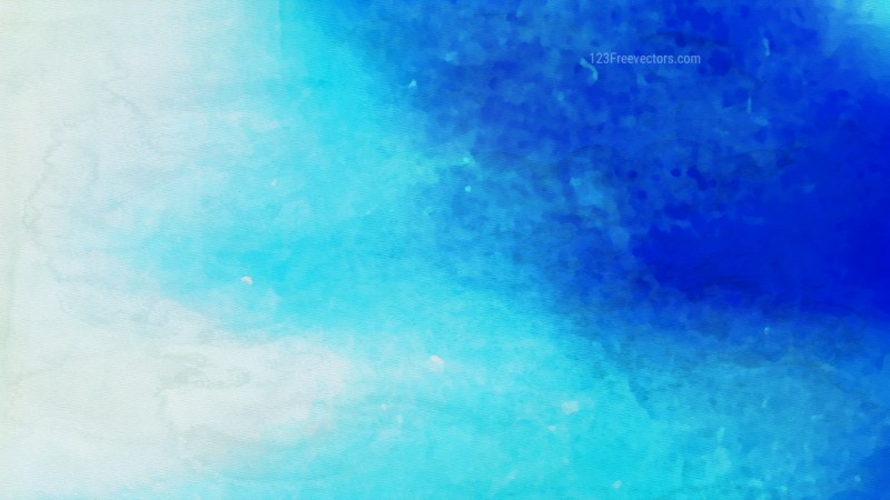 Blue and White Grunge Watercolour Texture