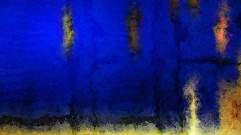 Blue Orange and Black Watercolor Texture Image