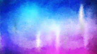 Blue Purple and White Watercolor Background