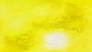 Bright Yellow Watercolor Texture Image