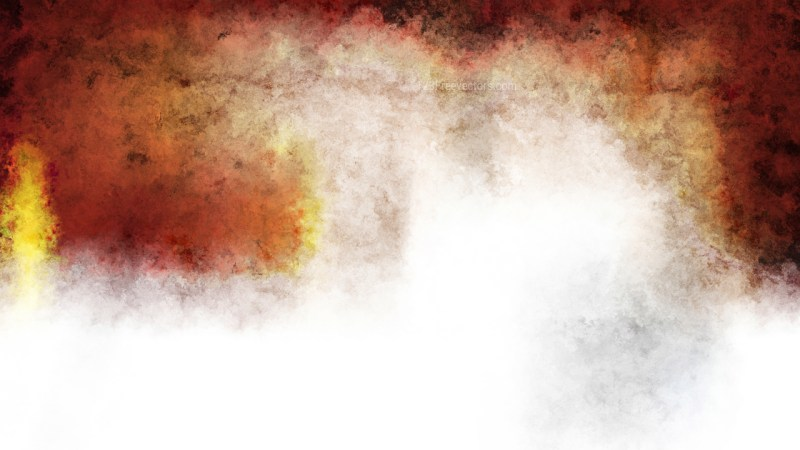 Brown and White Grunge Watercolor Background