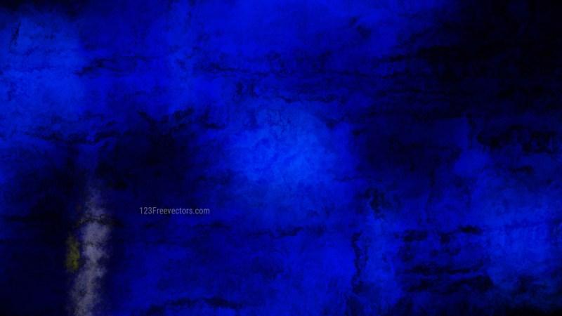 Cool Blue Aquarelle Background Image