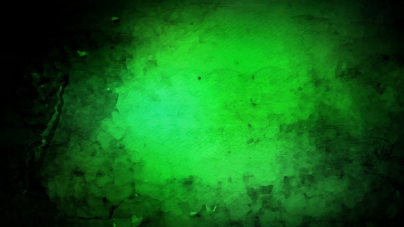 Cool Green Watercolor Background Image