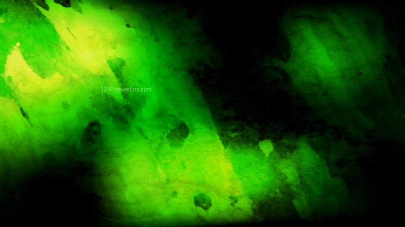 Cool Green Aquarelle Texture