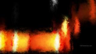 Cool Orange Watercolor Background Image
