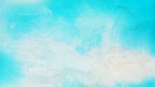 Cyan Watercolour Background Image