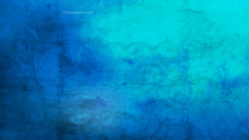 Dark Blue Aquarelle Background