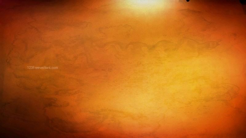 Dark Orange Grunge Watercolour Texture