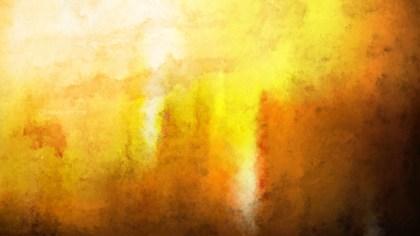 Dark Orange Grunge Watercolour Texture Background Image