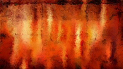Dark Orange Watercolour Background Image