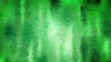 Green Grunge Watercolor Background
