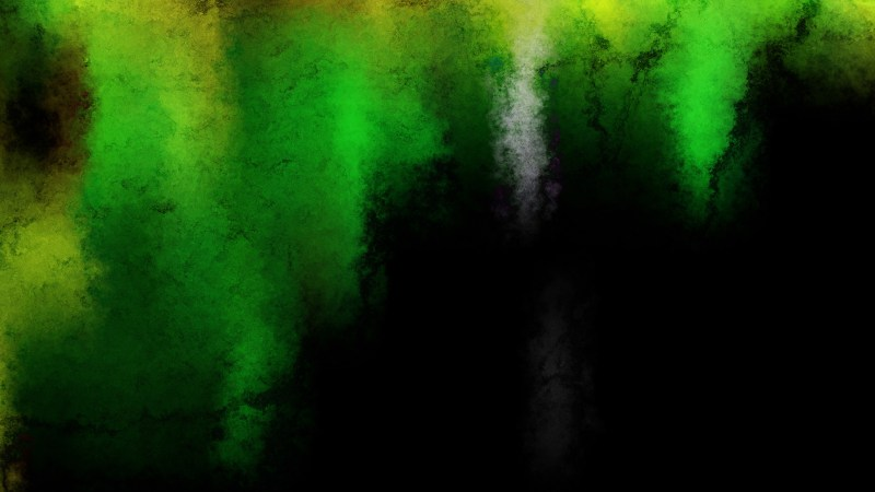 Green and Black Grunge Watercolor Texture