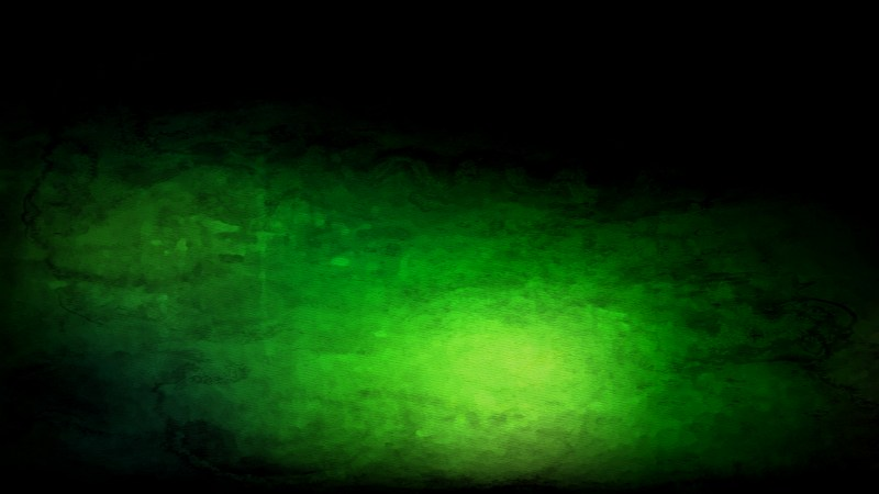 Green and Black Watercolor Background Texture Image