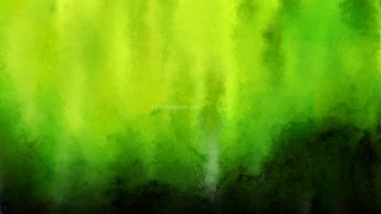 Green and Black Distressed Watercolour Background Image