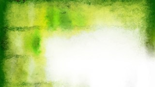 Green and White Watercolor Background Image