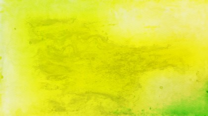 Green and Yellow Grunge Watercolour Background