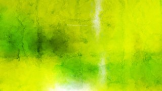 Green and Yellow Watercolor Grunge Texture Background
