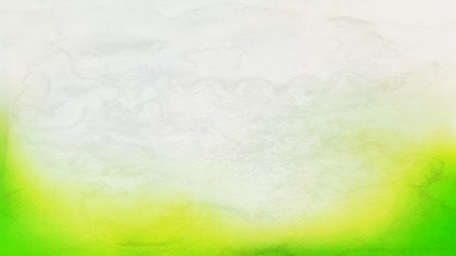Green Yellow and White Distressed Watercolour Background