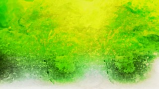 Green Yellow and White Watercolor Background Texture