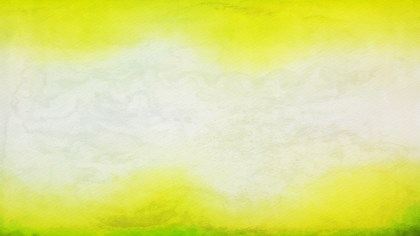 Green Yellow and White Grunge Watercolour Texture Background Image