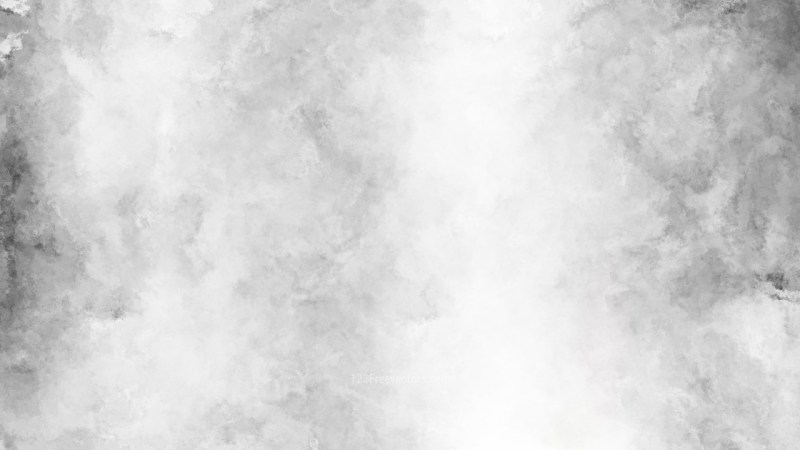 Grey and White Water Color Background