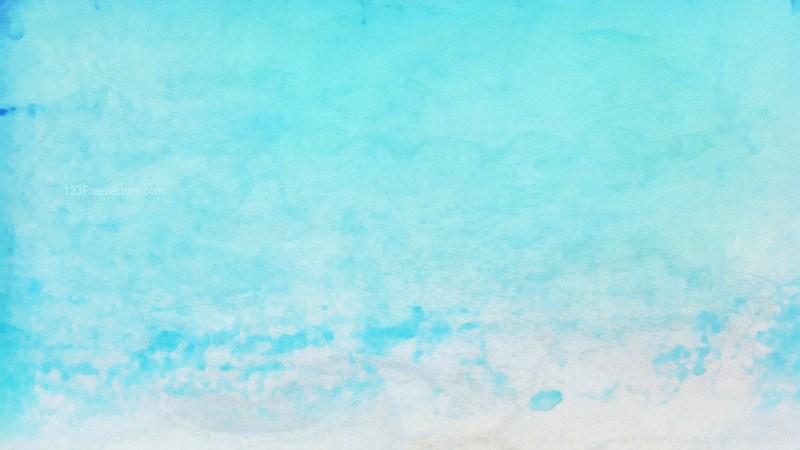 Light Blue Grunge Watercolour Background