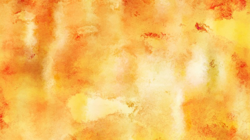 Orange Distressed Watercolour Background