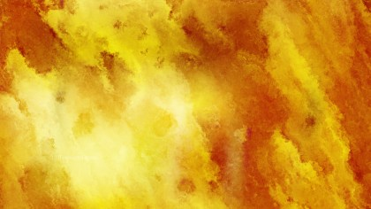 Orange Watercolor Background Texture Image