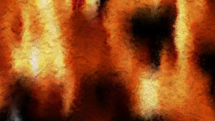 Orange and Black Watercolour Background Texture