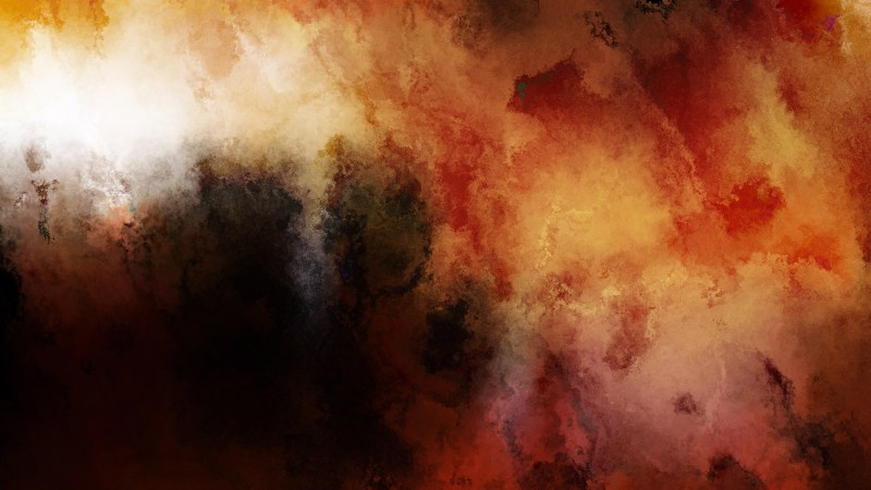Orange and Black Watercolor Background Texture