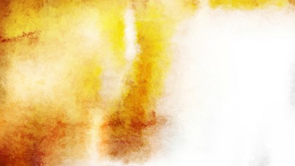 Orange and White Watercolor Texture Image