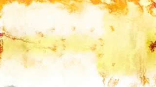Orange and White Watercolor Background