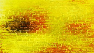 Orange and Yellow Watercolor Texture Background