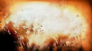 Orange Black and White Grunge Watercolour Texture Image