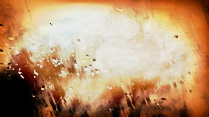 Orange Black and White Grunge Watercolour Texture Image