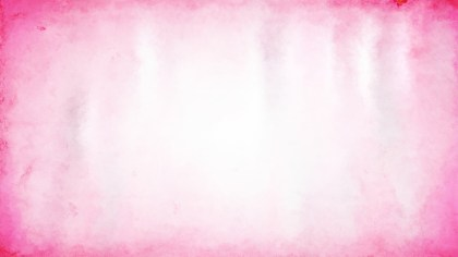 Pink and White Aquarelle Background Image