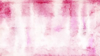 Pink and White Distressed Watercolour Background Image