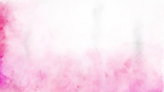 Pink and White Watercolor Grunge Texture Background Image