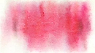 Pink and White Grunge Watercolour Background Image