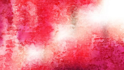 Pink and White Watercolour Grunge Texture Background Image