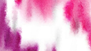 Pink and White Water Paint Background Image