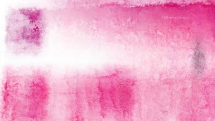 Pink and White Distressed Watercolor Background Image