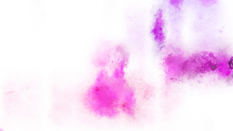 Pink and White Watercolor Background