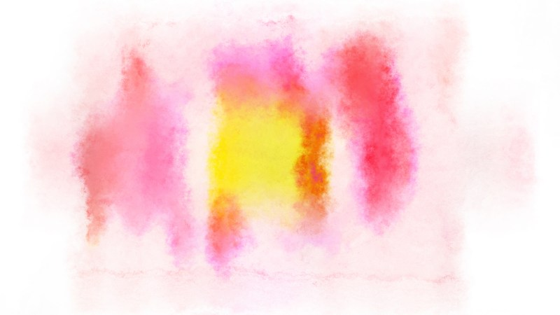 Pink Yellow and White Distressed Watercolor Background Image