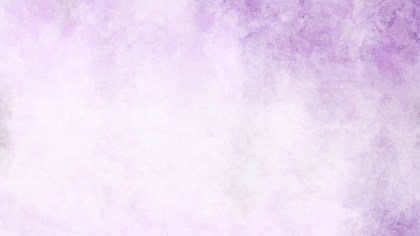 Purple and White Watercolour Background