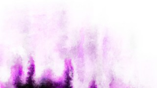 Purple and White Watercolor Texture Background
